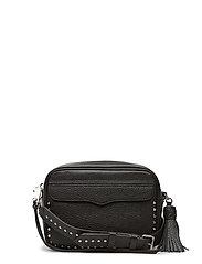 Bryn Camera Bag - BLACK/SILVER