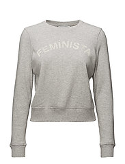 Kassidy Sweatshirt: Feminista - LT HEATHER