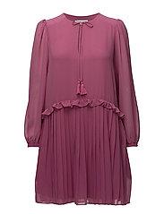 Morrison Dress - RED VIOLET