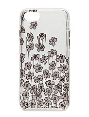 Painterly Flowers Case Iphone 7 - BMG MULTI GLITTER/CLEAR