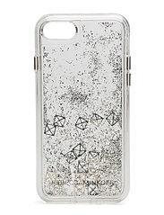 Studs Glitterfall Case Iphone 7 - STU GOLD STUDS/SILVER GLITTER