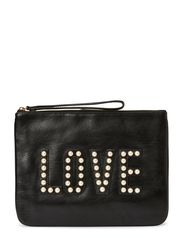 LOVE JODY POUCH - 001-BLACK