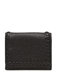Mini Vanity Wallet - BLACK /  SILVER