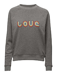 Classic Crew Sweatshirt L - MEDIUM HEATHER