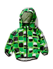 Rain coat, Kupla, waterproof 10.000mm - Bright green