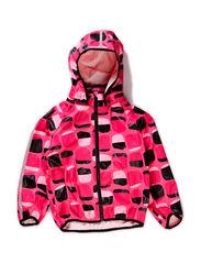 Rain coat, Kupla - Neon pink