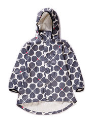 Rain coat, Kaste, waterproof 10.000mm - Soft grey