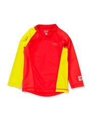 Baby Shirt, Borneo - flame red