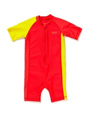 Baby swimsuit, Odessa - flame red