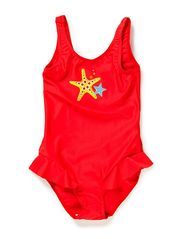 Baby swimsuit,Corfu - flame red