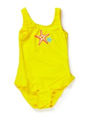 Baby swimsuit,Corfu - yellow