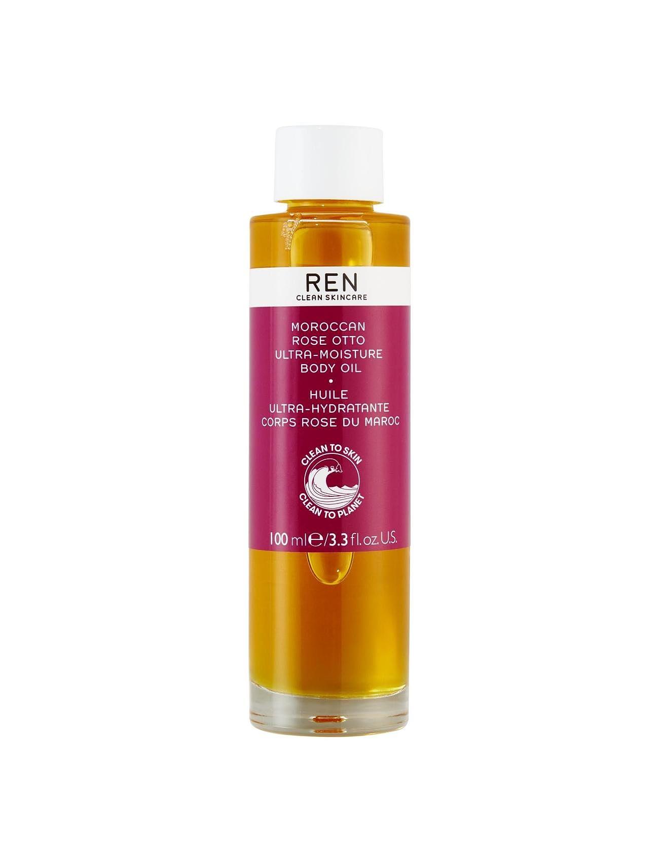 Moroccan Rose Otto Ultra-Moisture Body Oil REN #I/T til Unisex i