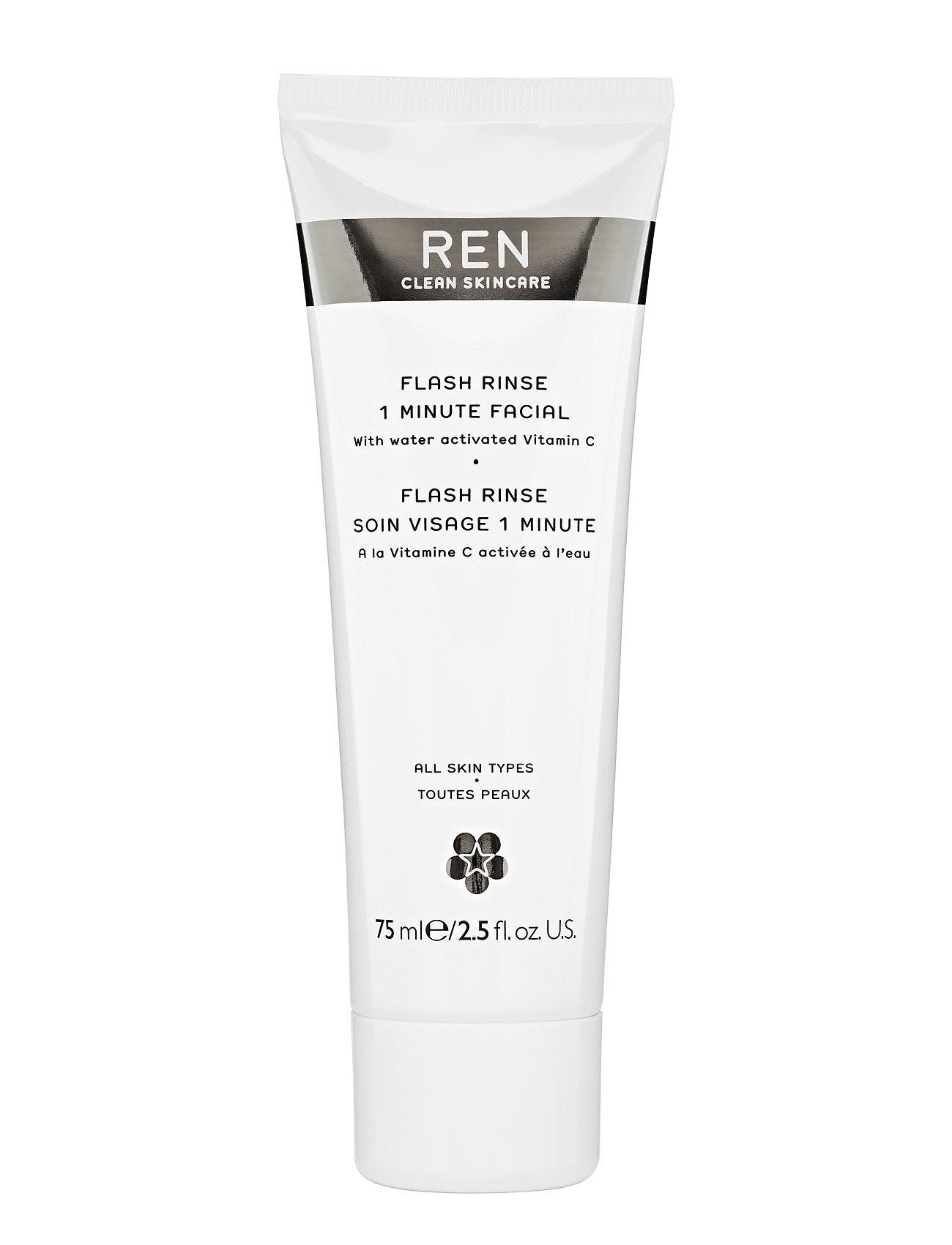 Flash Rinse 1 Minute Facial REN #I/T til Unisex i Klar