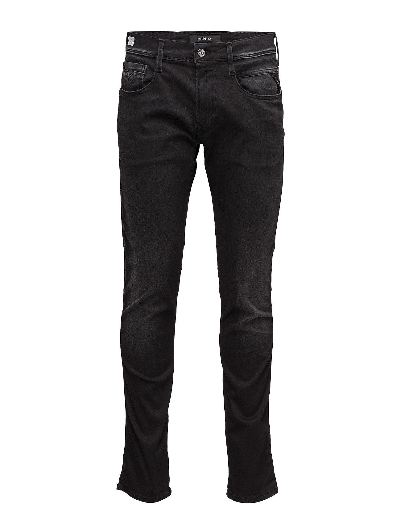 Anbass Pants Replay Jeans til Mænd i Denim