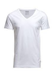 ORIGINAL mens v-neck tee no 4 - WHITE