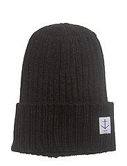Harald SOLID Hat - BLACK