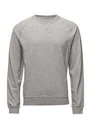 Sweatshirt - GREY MEL.