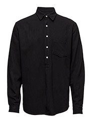 Pop over shirt - BLACK