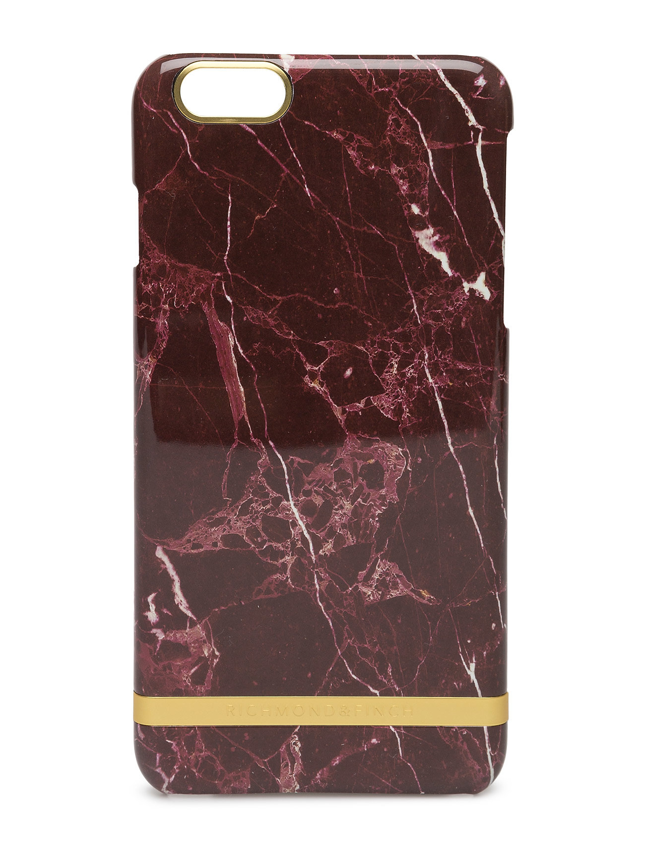 Red Marble Glossy Iphone 6plus Richmond & Finch Accessories til Unisex i