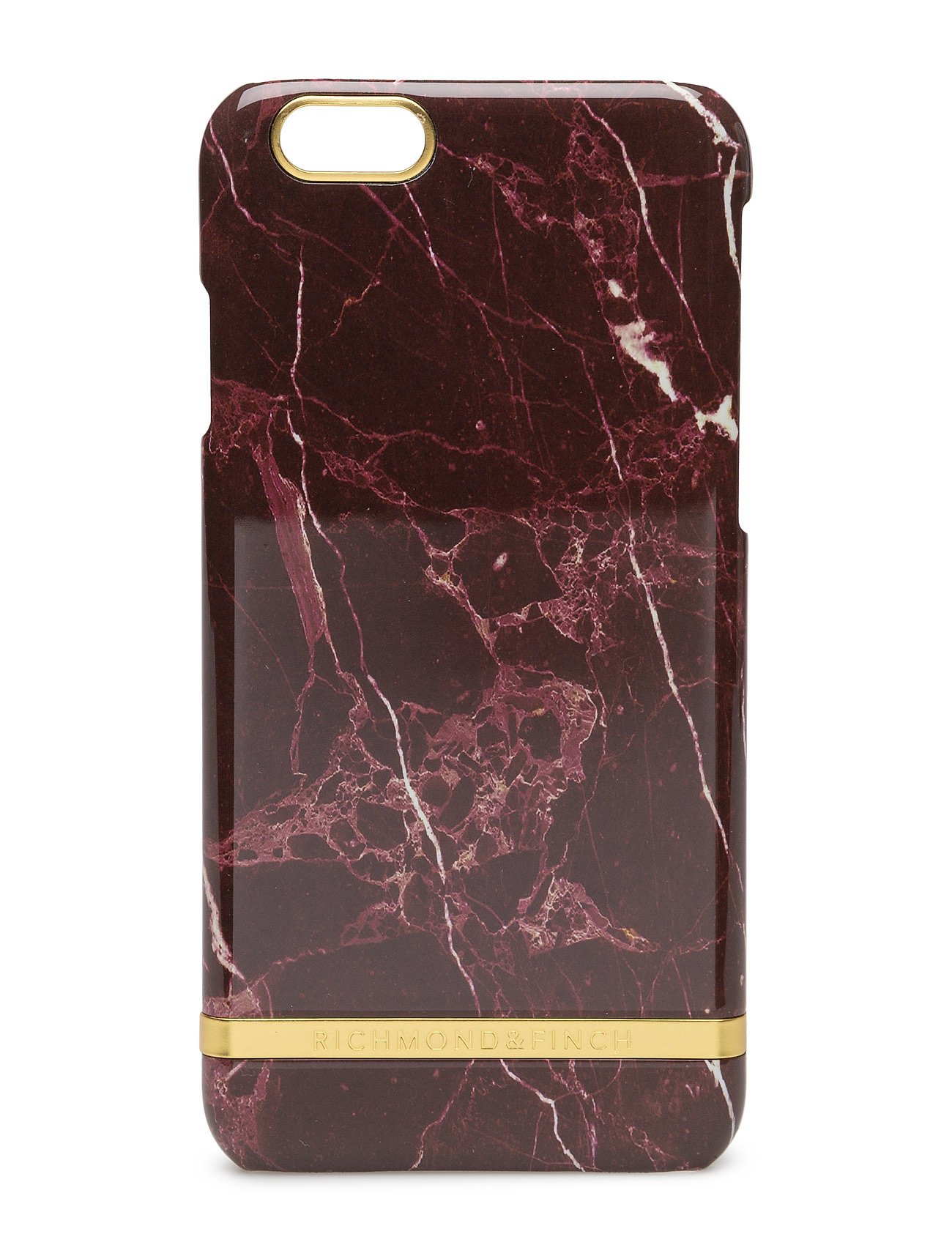 Red Marble Glossy Iphone 6/6s Richmond & Finch Mobiltelefon accessories til Damer i