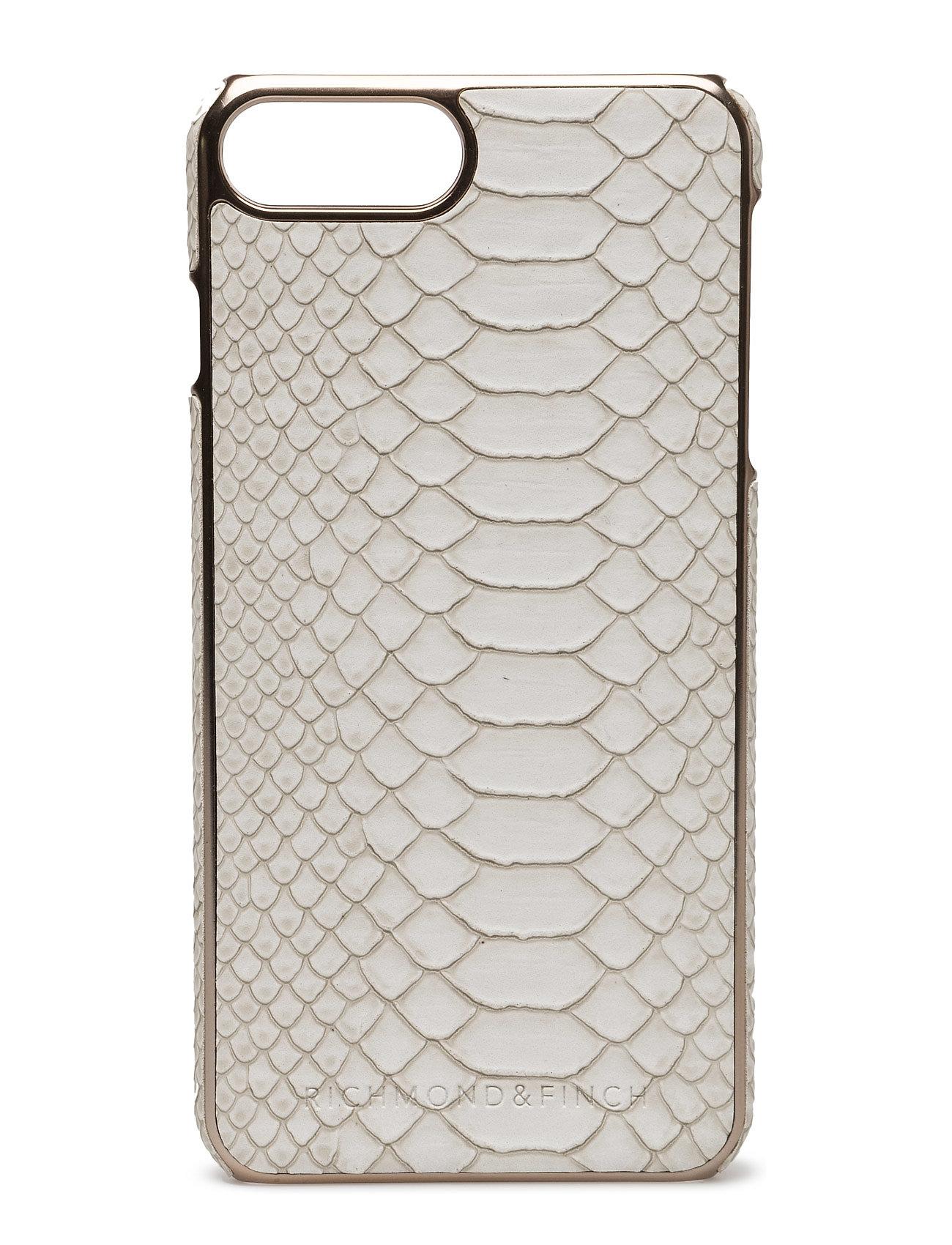 Framed Rosé - White Reptile Iphone 7plus Richmond & Finch Mobiltelefon accessories til Herrer i