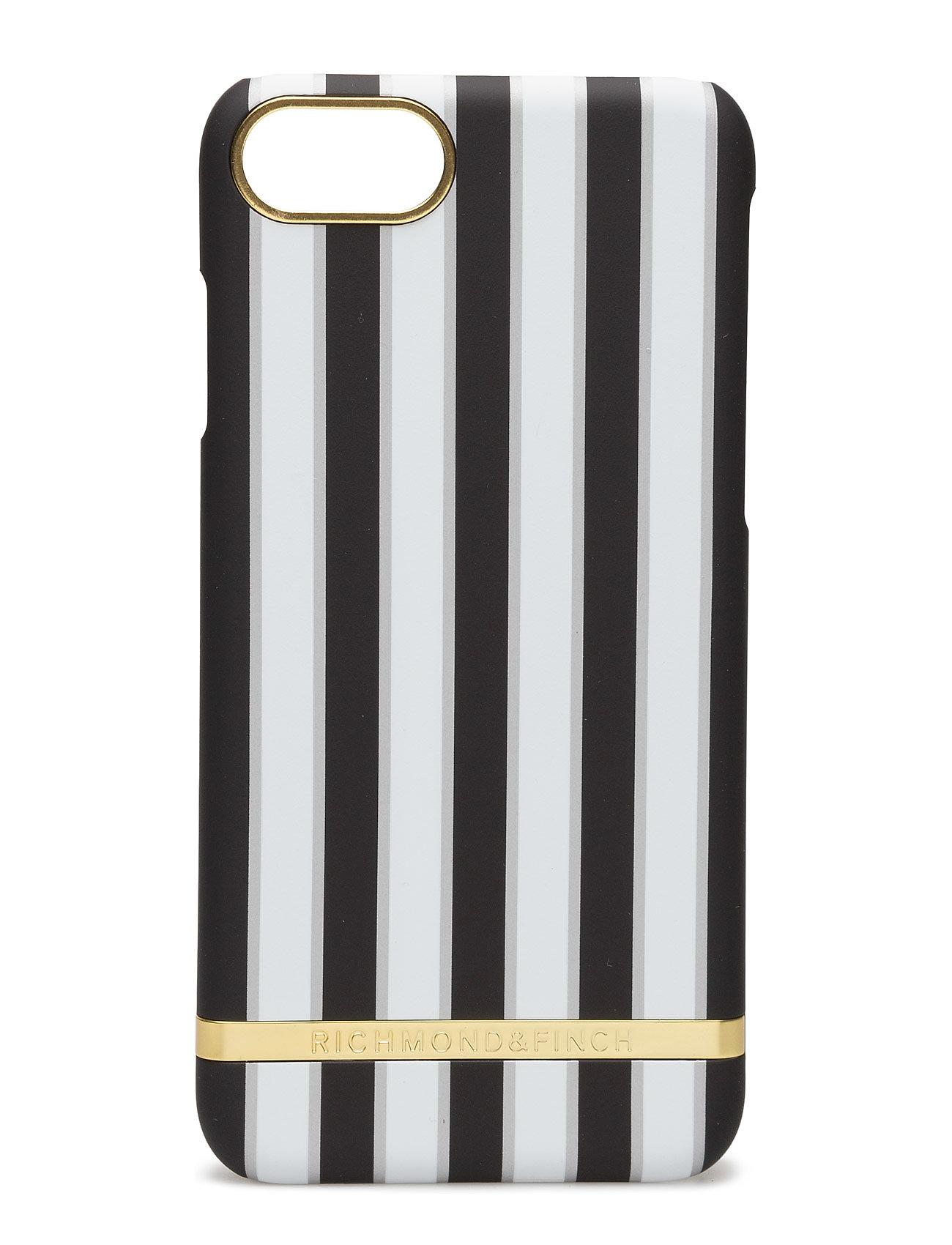 Sharkskin Satin Stripes Iphone 7 Richmond & Finch Mobiltelefon accessories til Herrer i