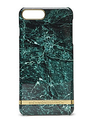 Green Marble Glossy Iphone 7PLUS - GREEN MARBLE