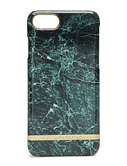 Green Marble Glossy Iphone 7 - GREEN MARBLE