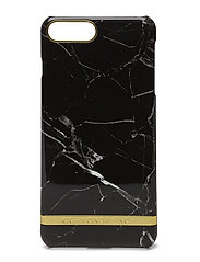 Black Marble Glossy Iphone 7PLUS - BLACK MARBLE