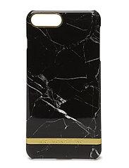 Black Marble Glossy Iphone 7PLUS - BLACK MARBLE