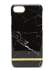 Black Marble GlossyIphone 7 - BLACK MARBLE