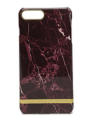 Red Marble Glossy Iphone 7PLUS - RED MARBLE