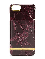 Red Marble Glossy Iphone 7 - RED MARBLE