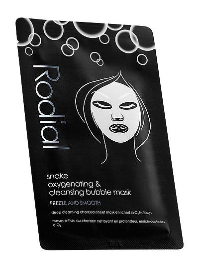 Snake Bubble Mask 8 stk. - BLACK