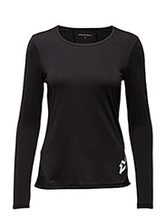 GENNA LONG SLEEVE - BLACK