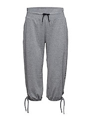 Luna shorts pants - GREY MELANGE/BLACK