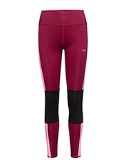 Shape nea long tights - BEET ROOT