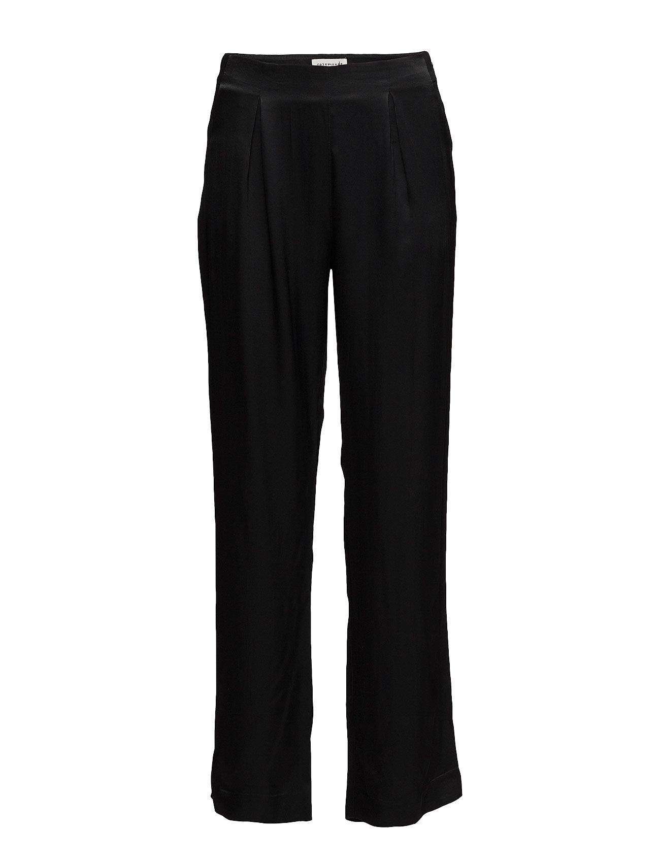 Trousers Rosemunde Bukser til Kvinder i Sort