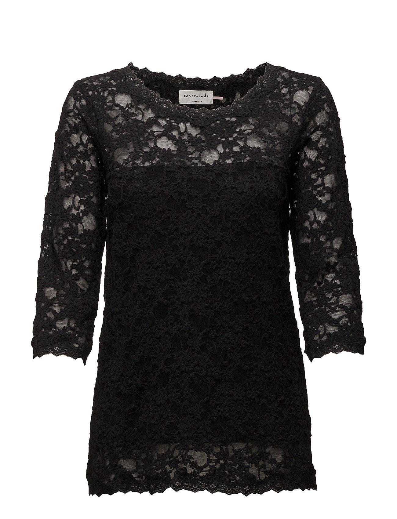 T-Shirt 3/4 S Rosemunde T-shirts & toppe til Kvinder i Sort