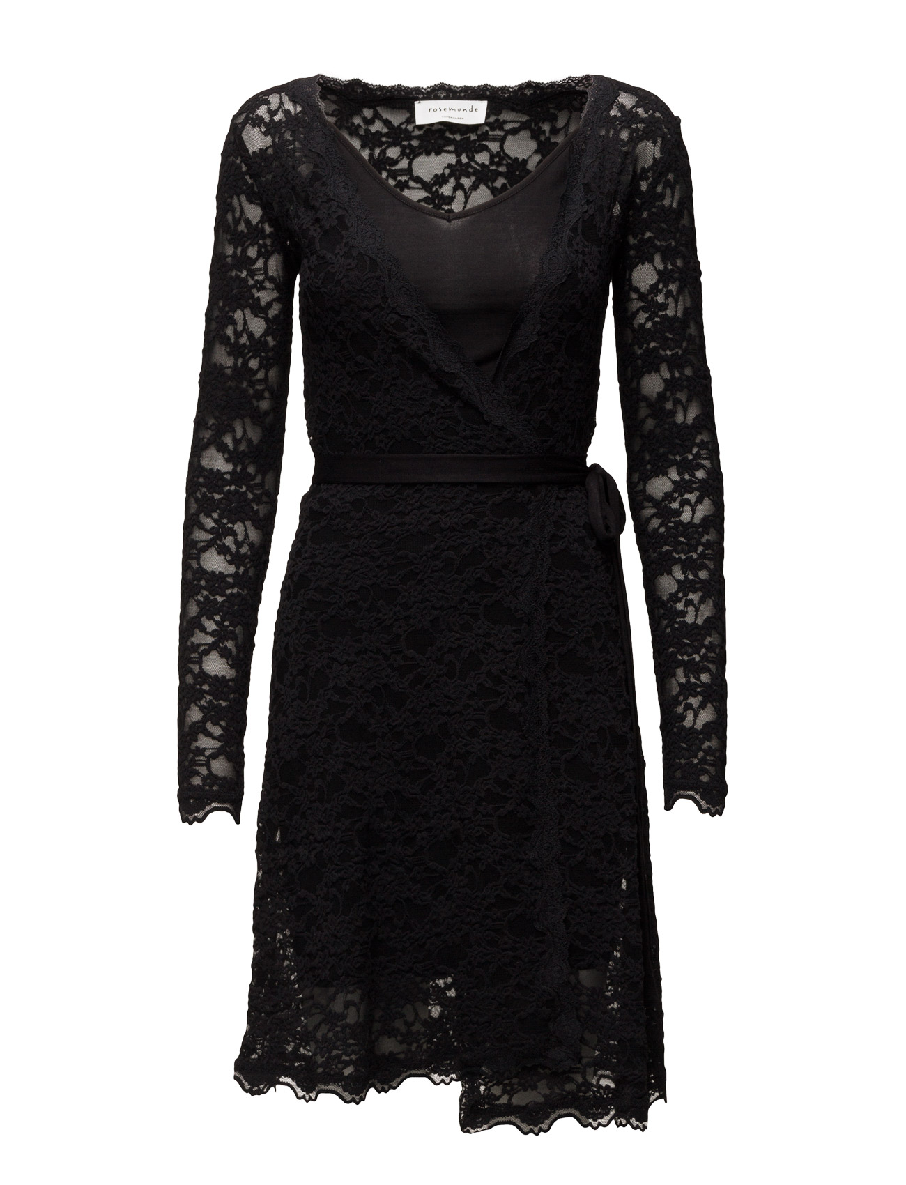 Dress Ls Rosemunde Korte kjoler til Damer i Sort