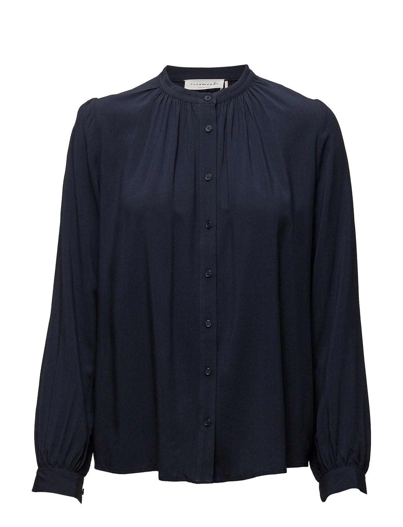 Shirt Ls Rosemunde Langærmede til Damer i Mørkeblå