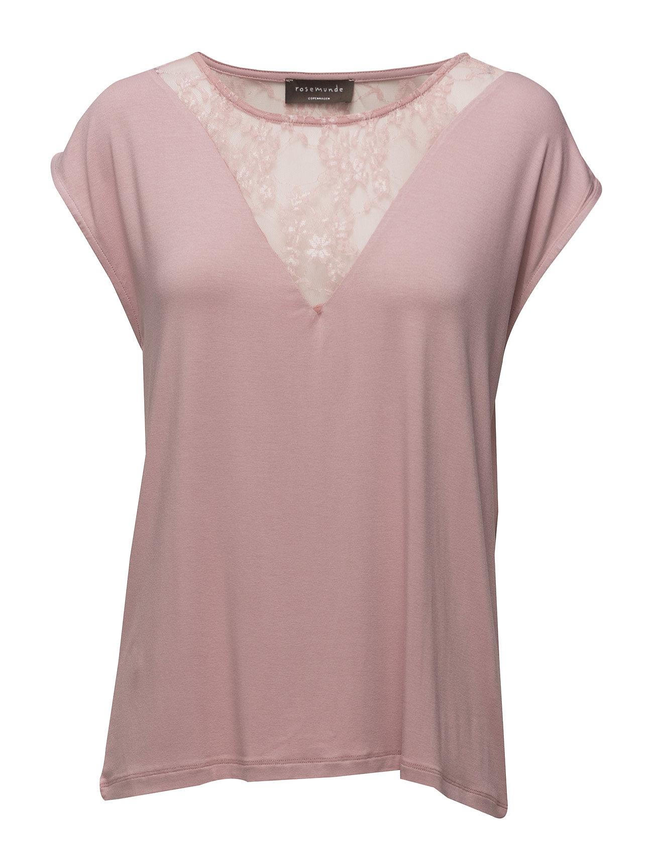 T-Shirt Ss Rosemunde Kortærmede til Damer i Woodrose