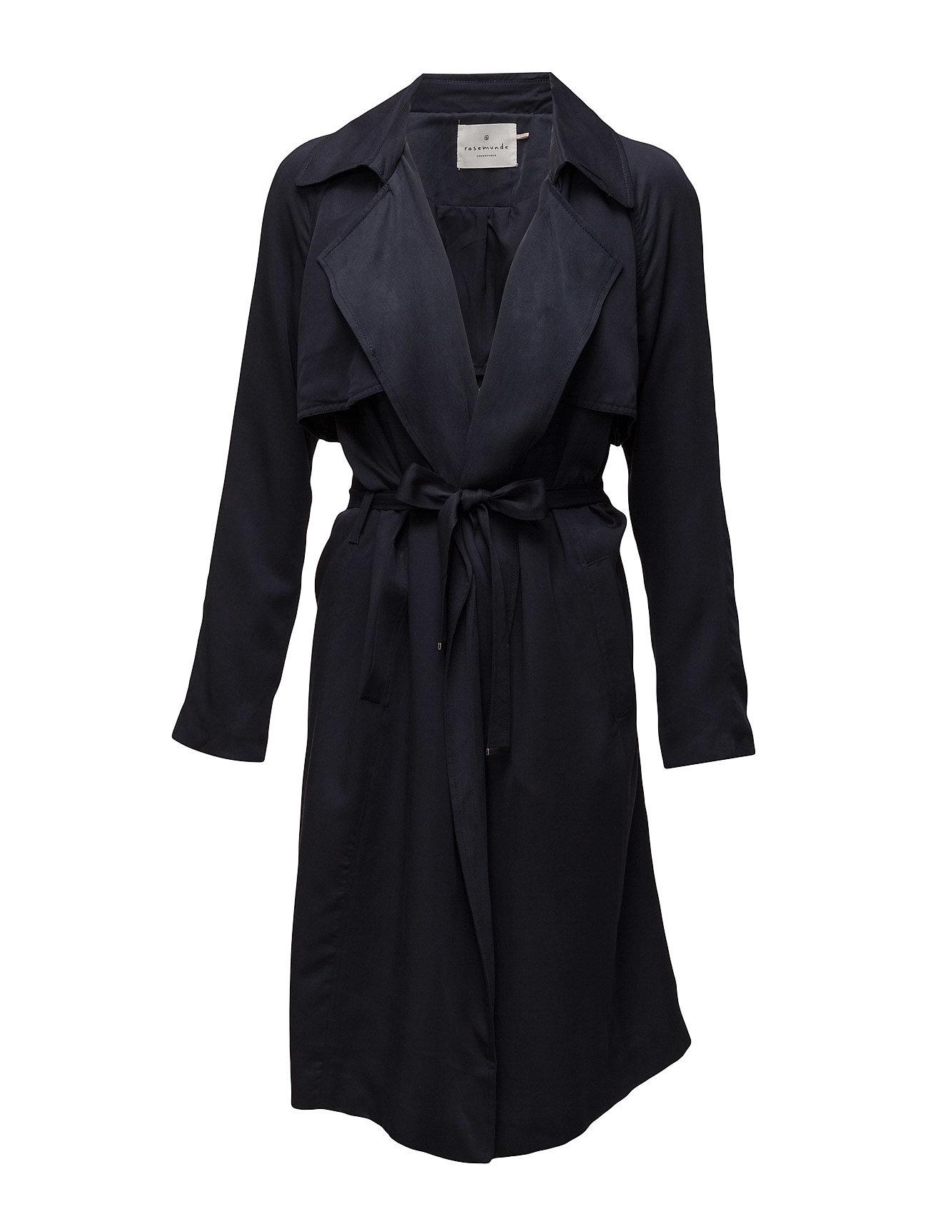 Coat Ls Rosemunde Frakker til Kvinder i Mørkeblå