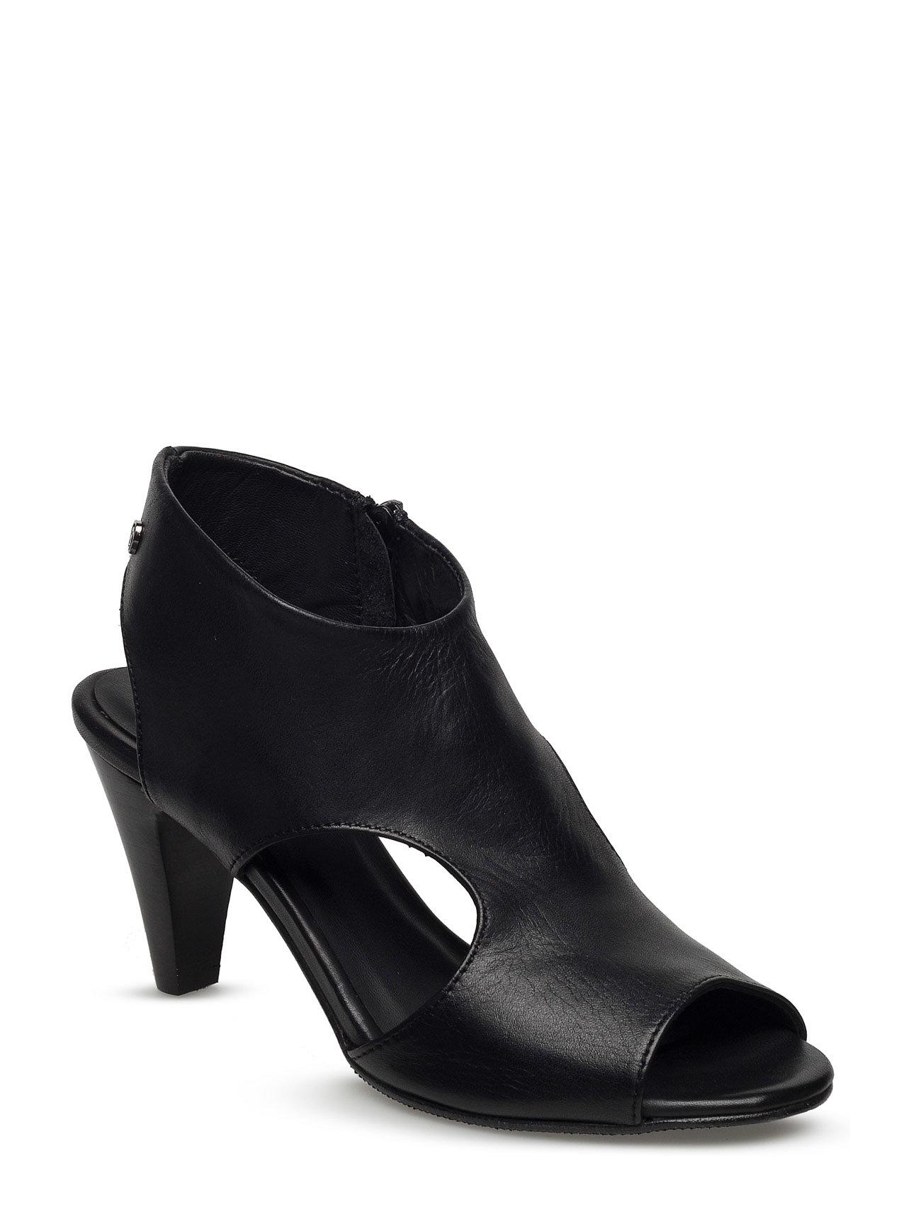 Shoes, High Heel Rosemunde Sandaler til Damer i Sort
