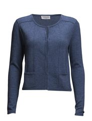 Jacket ls - Blue flint melange