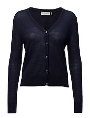 Cardigan ls - DARK BLUE