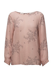 Blouse ls - ROSE ROMANTIC PRINT