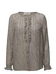 Shirt ls - DOVE MEADOW PRINT