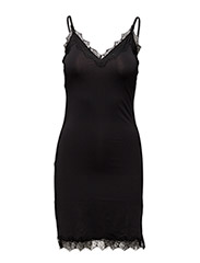 Strap dress - BLACK