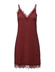 Strap dress - MAROON